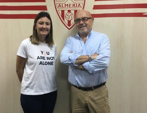 Renovamos nuestro compromiso con la Unión Deportiva Almería